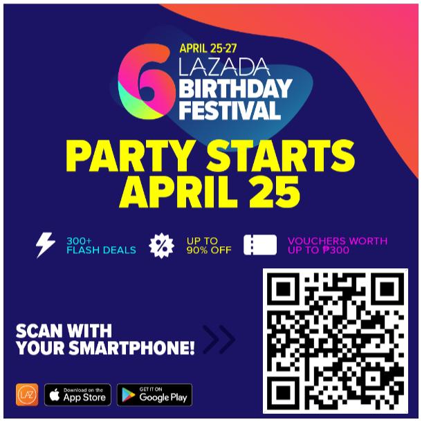 Lazada Birthday Sale 2018