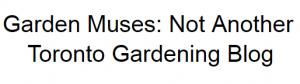 Garden Muses