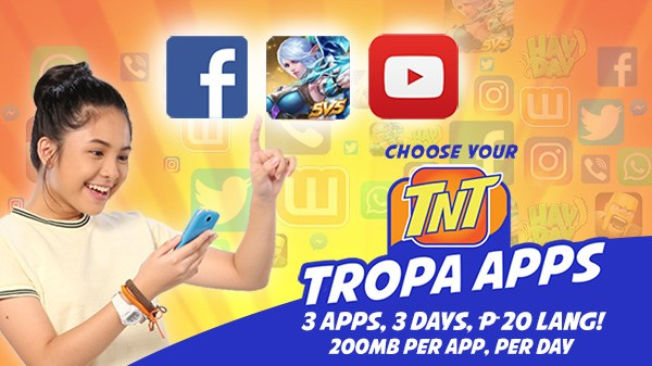 TNT Recharge online ph